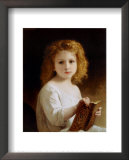 The Story Book Prints by William Adolphe Bouguereau