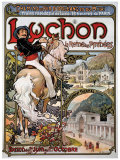 Luchon Giclee Print by Emmanuel Brun