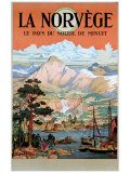 La Norvege Giclee Print by Arent Christensen