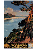 Hossegor Giclee Print by E. Paul Champseix
