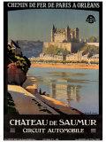 Chateau de Saumur Giclee Print