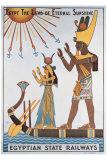 Egyptian State Railways Giclee Print by Kalfa