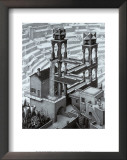 Waterfall Prints by M. C. Escher