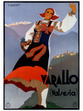 Varallo (Valesia) Giclee Print by F Romoli
