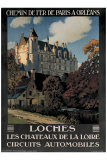 Chateau de Loches Giclee Print by Constant Leon Duval