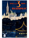 Budapest Giclee Print by Polya Tibor