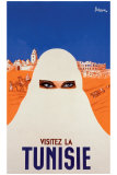 Visitie la Tunisie Giclee Print by P. Ballenger