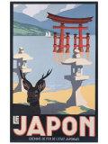 Le Japon Wydruk giclee autor P. Erwin Brown