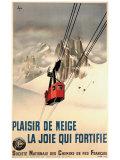 Plais De Neige Giclee Print by N. Gerale