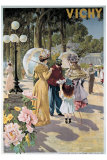Vichy Giclee Print by  Tanconville