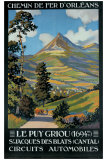Le Puy Griou Giclee Print by Constant Leon Duval