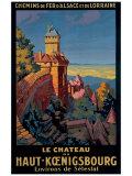 Le Chateau de Haut-Koenigsbourg Giclee Print by Pierre Commarmond