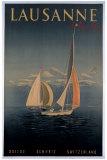 Lausanne Giclee Print