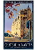 Pierre Commarmond - Chateau de Nantes - Giclee Baskı