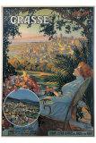 Grasse Giclee Print by David Dellepiane