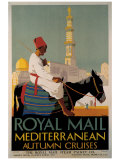 Royal Mail Mediterranean Giclee Print by  Padden