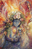 The Fairy's Fairy Print by Josephine Wall