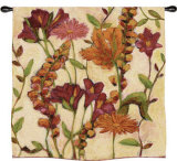 Garden Blooms Wall Tapestry by Claire Learner
