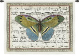 Butterfly Dance II Wall Tapestry