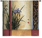 Garden Gateway Wall Tapestry by Don Li-Leger