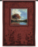 Waters Mist Wall Tapestry by Jill Schultz McGannon