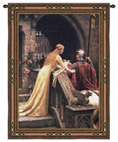 Godspeed Wall Tapestry by Edmund Blair Leighton