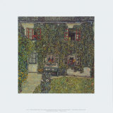 Forester's House in Waeissenbach at Attersee, 1912 Posters por Gustav Klimt