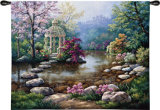 Gazebo Wall Tapestry by Sung Kim