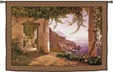 Amalfi Dai Cappuccini Wall Tapestry by Carl Frederic Aagaard
