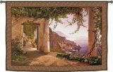 Amalfi de los Capuchinos Tapiz por Carl Frederic Aagaard