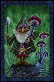 Gnome Mushroom Harvest Posters