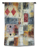 Casino Abstract Wall Tapestry by Jane Bellows