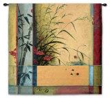 Partición de bambú Tapiz por Don Li-Leger