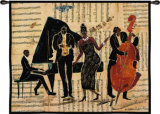 Jam Session II Wall Tapestry by Tal Vila