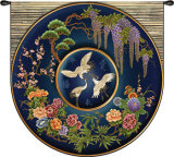 Cloisonne Lapis Wall Tapestry