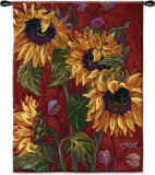 Sunflowers II Wall Tapestry