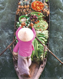 Floating Market Posters by John Banagan