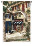 La Taverne Chez Elle Wall Tapestry by Fabrice De Villeneuve