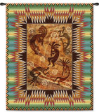 Southwest Ancient Ones Burst Wall Tapestry
