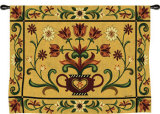 Heritage Floral Wall Tapestry by Jennifer Brinley