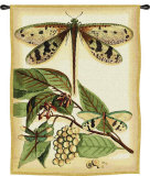 Whimsical Dragonfly I Wall Tapestry
