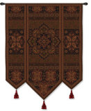 Masala Cinnamon Wall Tapestry