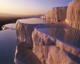 Terraced Thermal Pools, Turkey Prints by Marc Romanelli