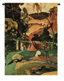 Matamoe Wall Tapestry by Paul Gauguin