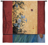 Artist's Garden Wall Tapestry by Don Li-Leger