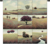 Tranquil Fields Wall Tapestry by James Wiens
