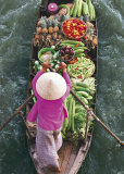 Floating Market Prints by John Banagan