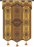 Prema Gold Wall Tapestry