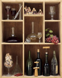 Bottle Rack Art by Camille Soulayrol