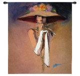White Gloves Wall Tapestry by Richard Ely